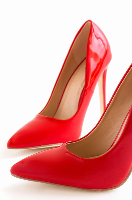 Hard Candy - Red Patent cheap sale affordable EPSm8