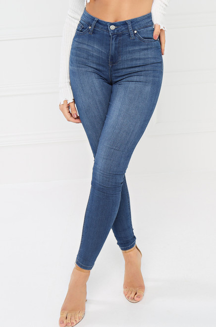 Fit It & Quit It Jean - Medium Wash Denim