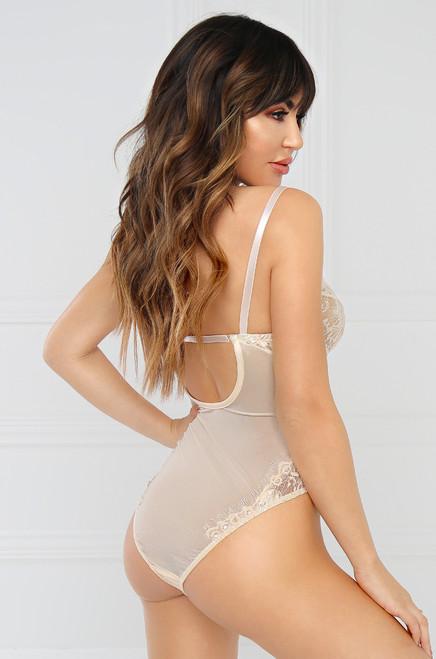 Risqué Bodysuit - Cream