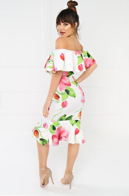 Forever Free Dress - Floral Print