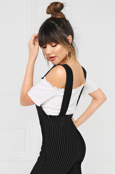 Boss of You Overall - Pinstripe