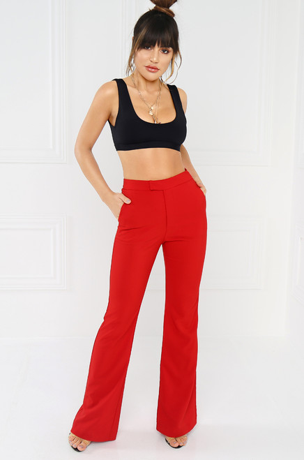 City-Born Trouser - Red