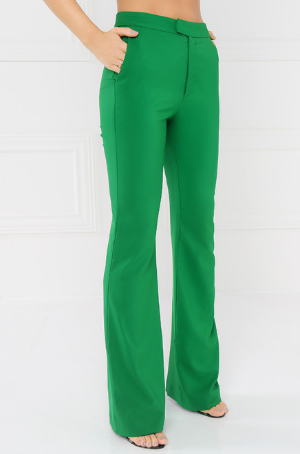 City-Born Trouser - Green