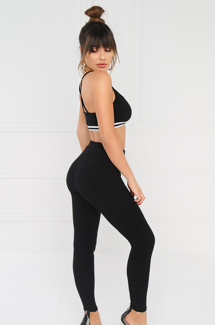 Let's Get Physical Legging - Black