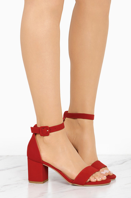 Lovely Lady - Red Nubuck