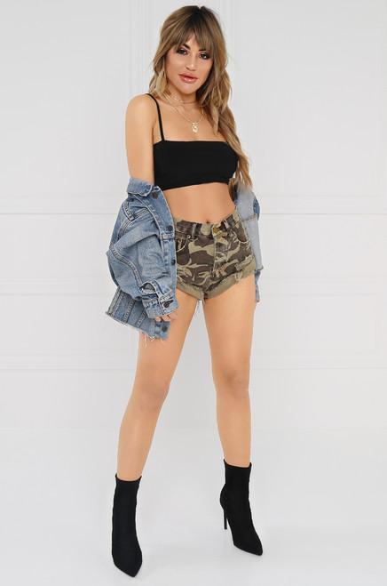 Rough & Raw Shorts - Camouflage