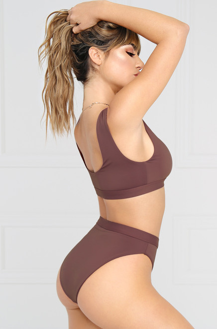 New Wave Bikini Bottom - Purple