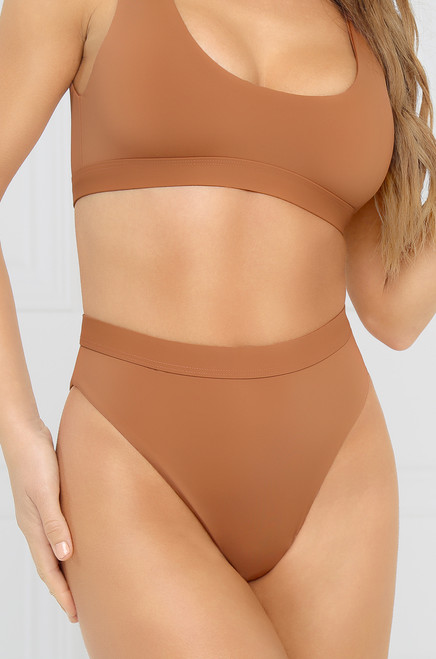 New Wave Bikini Bottom - Desert Sand