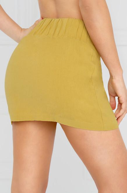Say Yes Skirt - Yellow