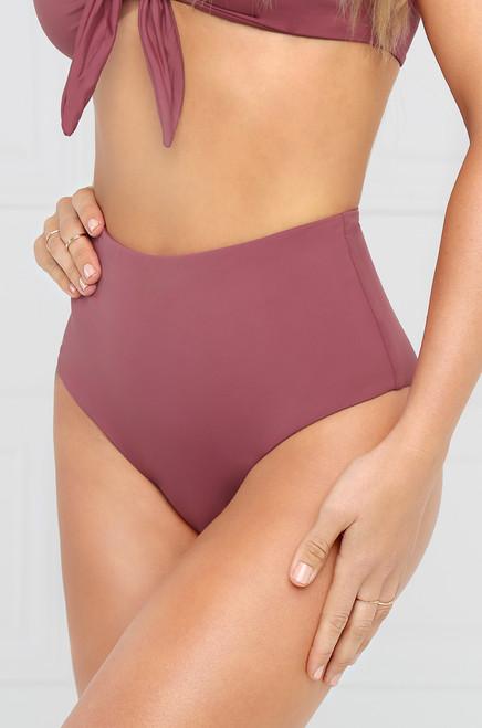 Fantasy Island Bikini Bottom - Mauve