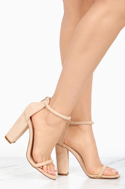 Thinking Out Loud - Nude Suede