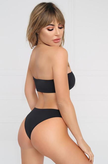 Slow Dive Bikini Bottom - Black