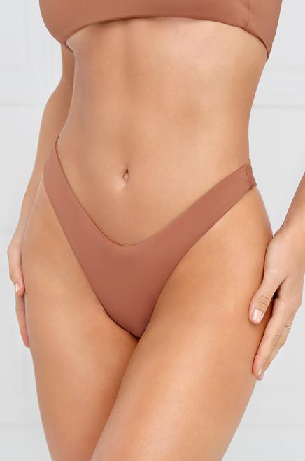 Slow Dive Bikini Bottom - Mauve