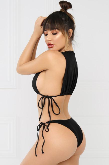 High Tide Bikini Bottom - Black