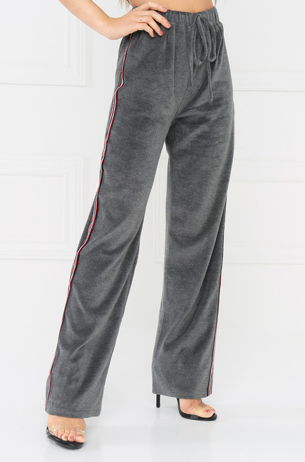 Right Track Pant - Grey