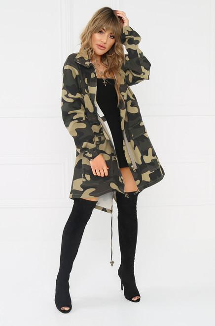 New Frontier Coat - Camouflage