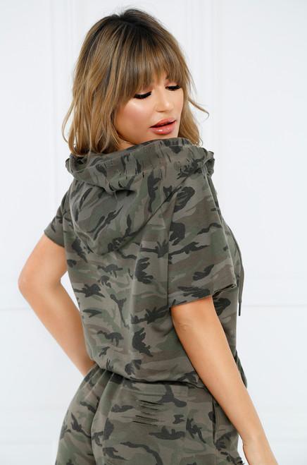 Master of Disguise Sweatshirt - Camouflage
