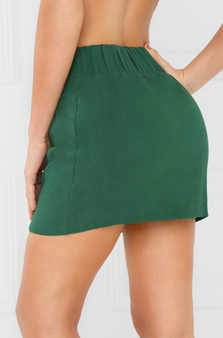 Say Yes Skirt - Green