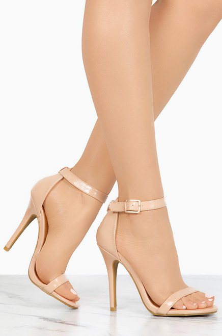 Material Girl - Nude Patent