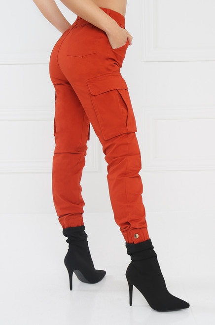Take It Easy Cargo Pant - Rust
