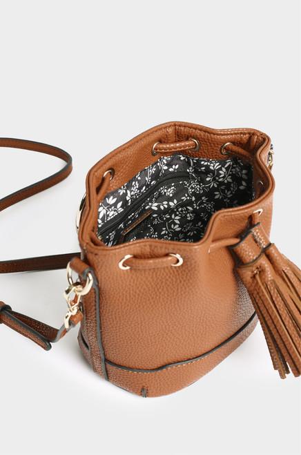 Monaco Bucket Bag - Tan