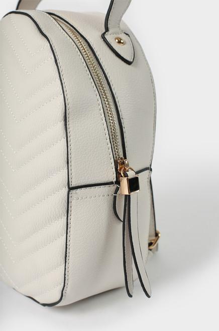 Demi Backpack - Ivory