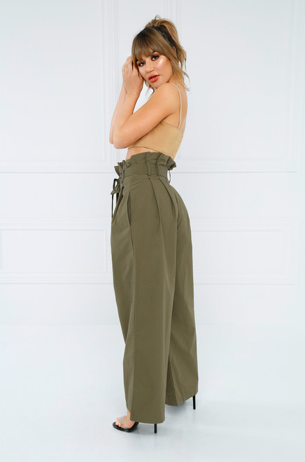 Mad Chill Trouser - Olive