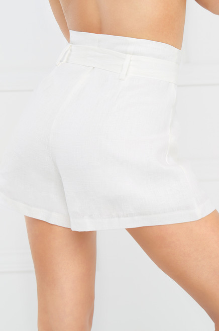 Run The World Shorts - White