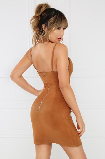 Baby I Got It Dress - Camel