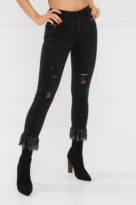 Disorderly Conduct Jean - Black Wash Denim