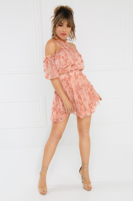 Still In Love Dress - Blush