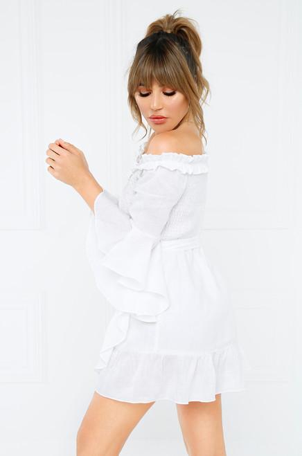 You Fancy Dress - White