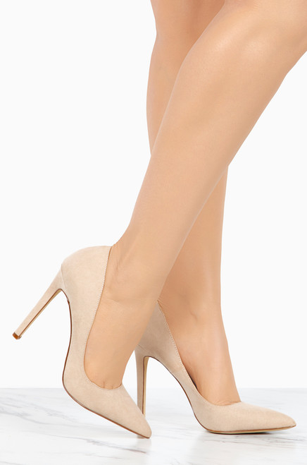 buy cheap view High-End - Nude Suede clearance ebay latest online outlet 100% original buy cheap newest mLhWrNox