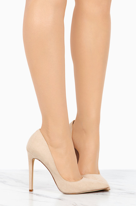 High-End - Nude Suede