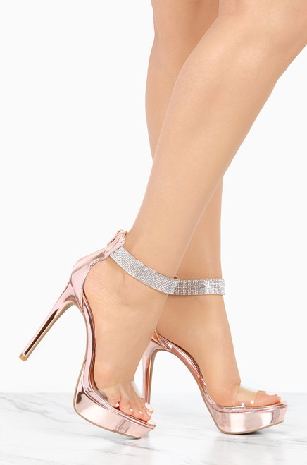 For The Fame - Pink Metallic free shipping under $60 shop offer cheap online cheap sale for cheap discount deals D9XjYX9q