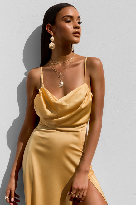Stella Dress - Gold