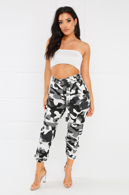 So Savage Cargo Pant - Camouflage
