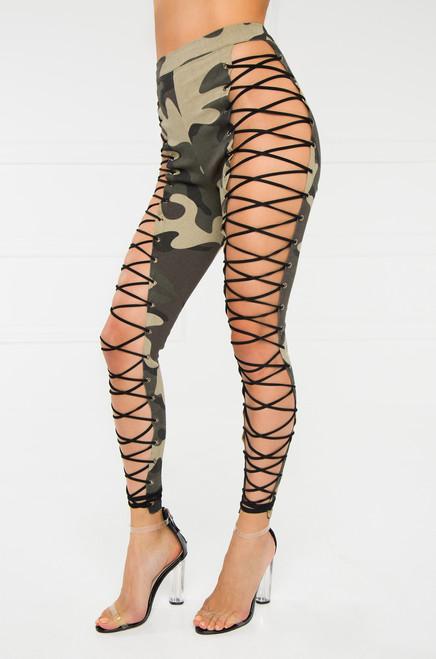 No Restraint Legging - Camouflage