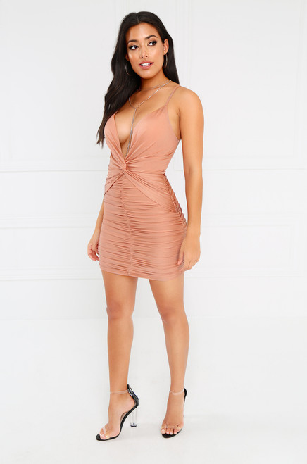 Faithfully Yours Dress - Blush
