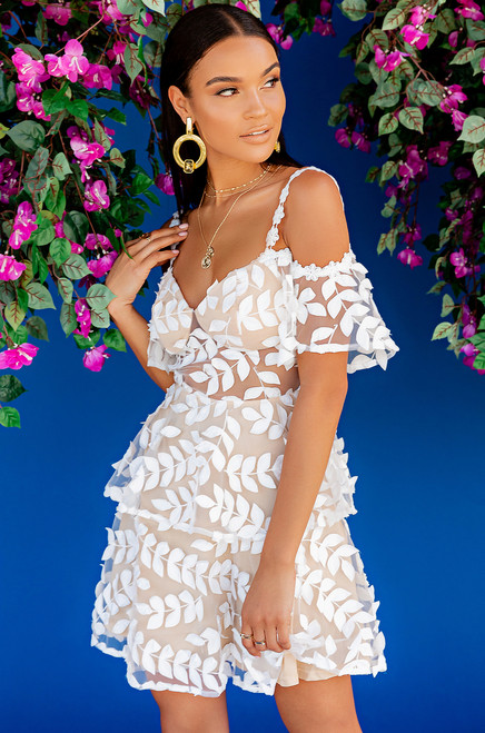 Forever Flawless Dress - White