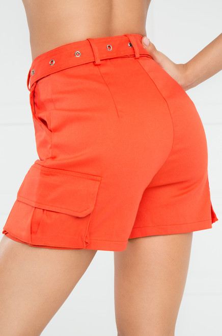 Play The Game Shorts - Orange