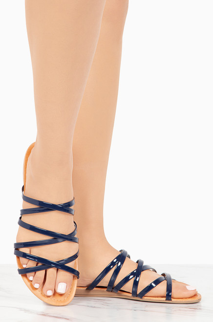 comfortable cheap price Freeform - Navy Patent from china for sale slUf1