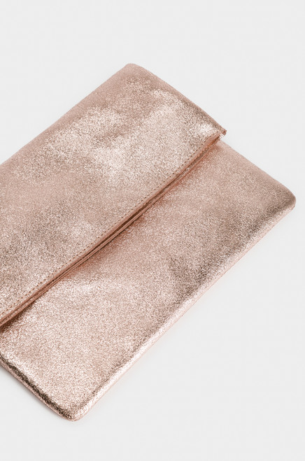 Kensington Clutch - Rose Gold