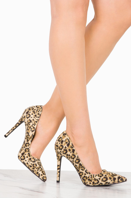 Forever More - Leopard Suede