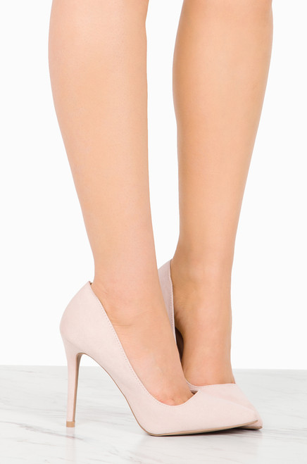 Forever More - Nude Suede
