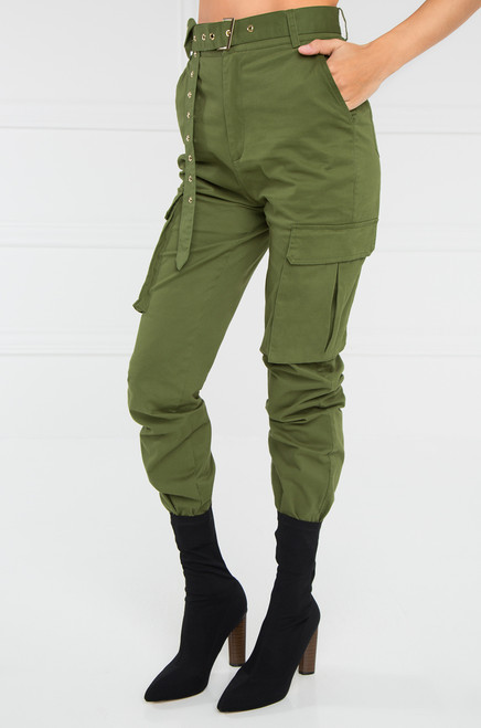 Take It Easy Cargo Pant - Olive