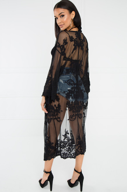 Kokomo Kimono - Black