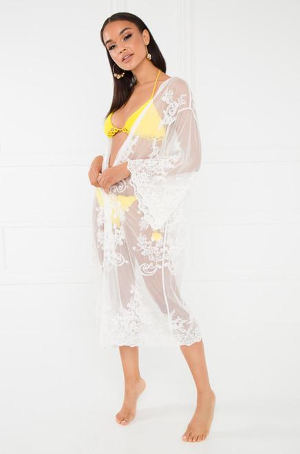 Kokomo Kimono - White