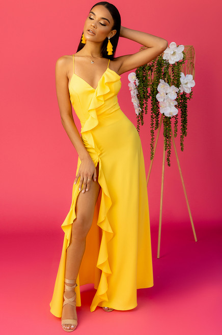 Hello Sunshine Dress - Yellow