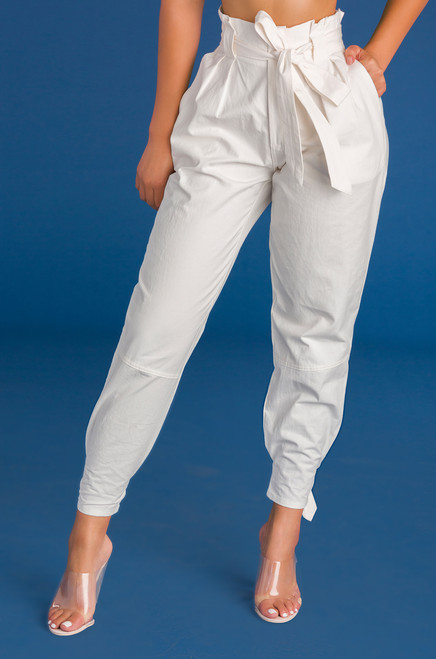 Good Karma Pant - White